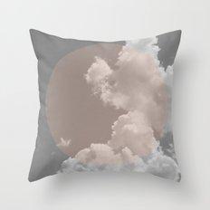 Misty Cloud Throw Pillow