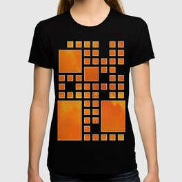 Visopolis V1 - orange flames T-shirt