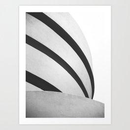 Guggenheim Shapes Art Print