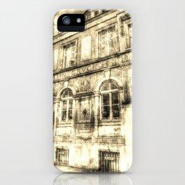 Victorian London Vintage iPhone Case