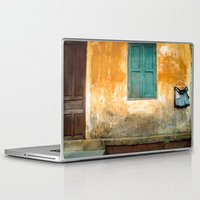 vietnam Laptop & iPad Skins featuring Antique Chinese Wall - VIETNAM by CAPTAINSILVA