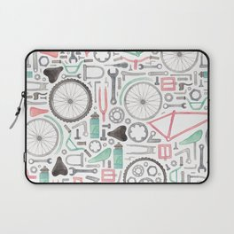 Cycling Bike Parts Laptop Sleeve