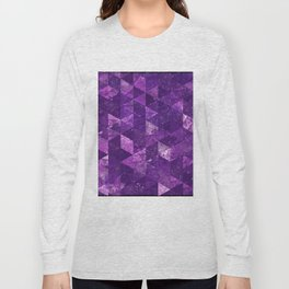 Abstract Geometric Background #35 Long Sleeve T-shirt