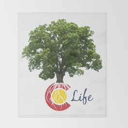 CO Life Oak Tree Throw Blanket