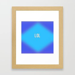 LoL Framed Art Print