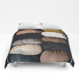 Warm Fuzzy Knits Comforters