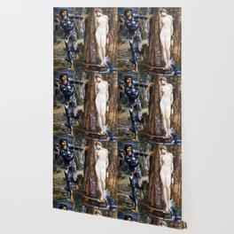 "Edward Burne-Jones ""The Rock of Doom"" Wallpaper"