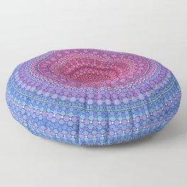 Keeping a Loving Heart Mandala Floor Pillow