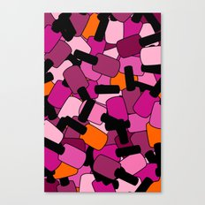 Nail Polish Canvas Print
