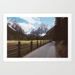 Let's hike together - Landscape and Nature Photography Art Print