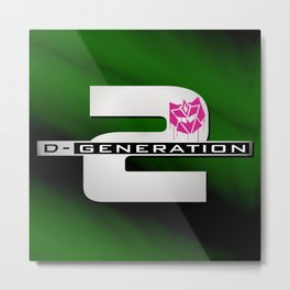 D-Generation 2 Metal Print