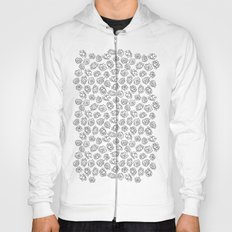 BLACK AND WHITE LOTUS Hoody