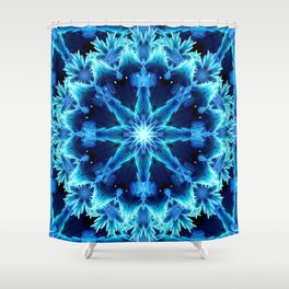 Crystal Light Mandala Shower Curtain