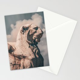 WINGED ROMAN LION Stationery Cards