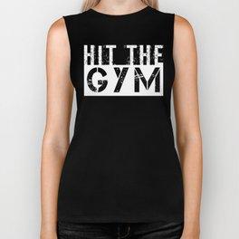 Hit The Gym Biker Tank