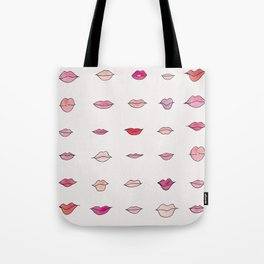 JUST GIVE ME A KISS Tote Bag