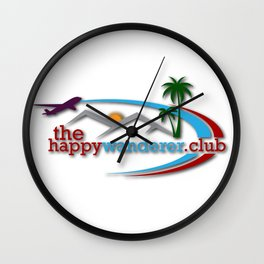 The Happy Wanderer Club Wall Clock