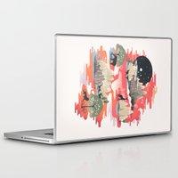 landscape Laptop & iPad Skins featuring Landscape of Dreams by dan elijah g. fajardo