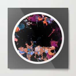 Abstract Style 2.4 Metal Print