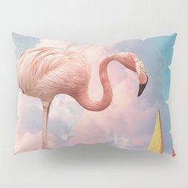 Flamingo Playground Pillow Sham