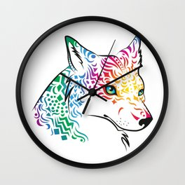 spiritwolf Wall Clock