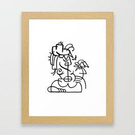 Bust No. 6 Framed Art Print