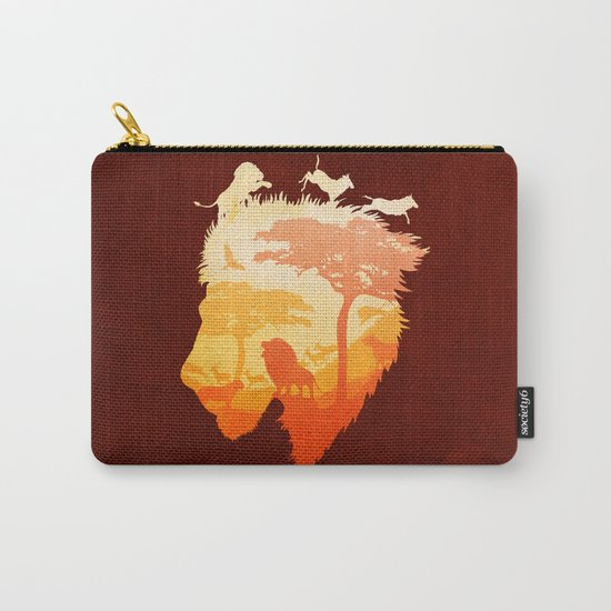 The Soul of a Lion Carry-All Pouch