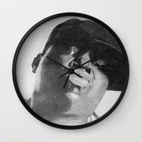 notorious Wall Clocks featuring Notorious B.I.G by tyler Guill