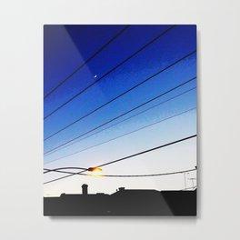 Morning Lights Metal Print
