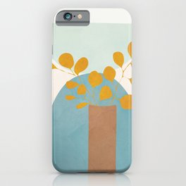 Soft Abstract Shapes 03 iPhone Case