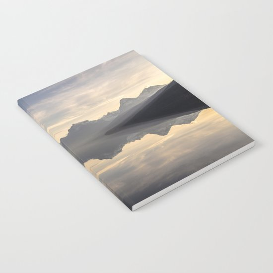 Landscape Reflections #mountain Notebook