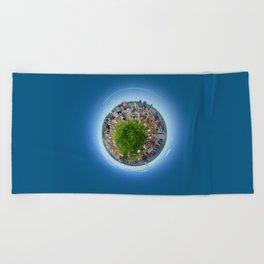 Planète MTL Beach Towel