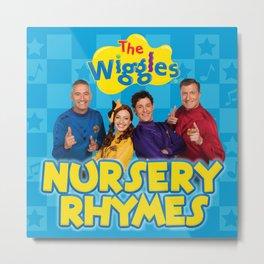 the wiggles nursery rhymes 2021 Metal Print
