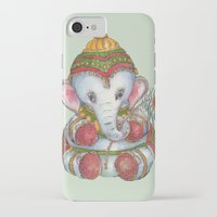 ganesh iPhone & iPod Cases featuring Ganesh by coconuttowers
