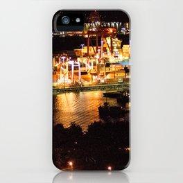 Las luces de Vancouver iPhone Case