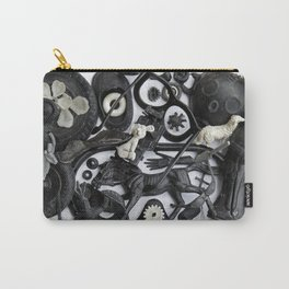 Black&White Carry-All Pouch