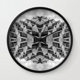 arch urban Wall Clock