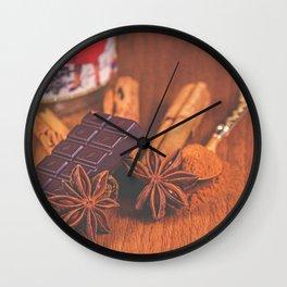 Seasonal Spice. Wall Clock