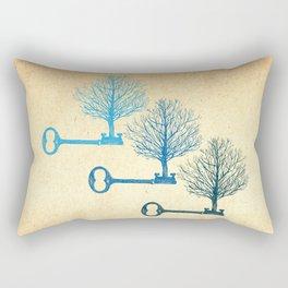 Tree Keys Rectangular Pillow