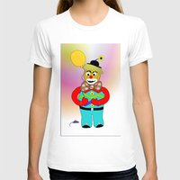 clown T-shirts featuring Clown by LoRo  Art & Pictures