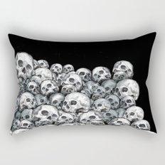 Skull Pattern Rectangular Pillow