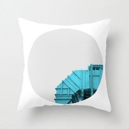 Air intake/ Cian Throw Pillow