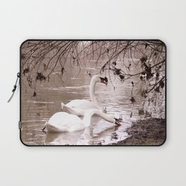 Swans friendship Laptop Sleeve