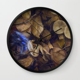 Autumn Slumber Wall Clock
