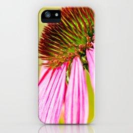 Purple Macro Flower iPhone Case