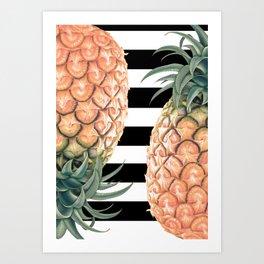 No More Apple! Art Print