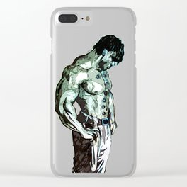 Ken the Warrior Clear iPhone Case
