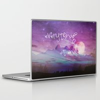 dreamer Laptop & iPad Skins featuring DREAMER by Monika Strigel