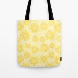 Fresh Lemon Pattern Tote Bag