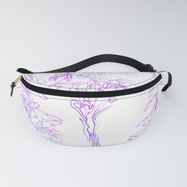 Fireweed flowers. Fanny Pack